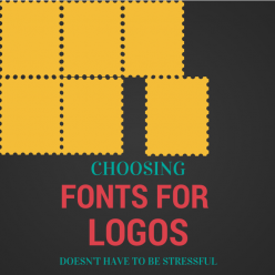 choosing fonts for logo design image