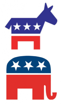 republican party democrat party logos