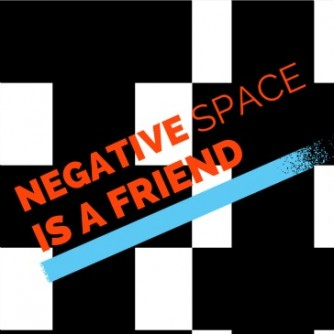 negative space blog image