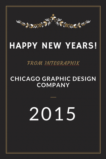 chicago graphic design new years image