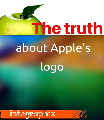 truth about Apple's logo image