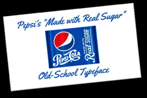 Pepsi logo typeface image